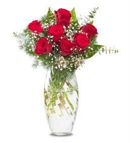 Sevginin Gücü 7 Kırmızı Güller