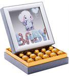 Aynalı Hoş Geldin Erkek Bebek Çikolata Kutusu