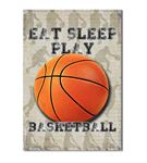 Basketbol Serisi A Kanvas Tablo 50x70 cm