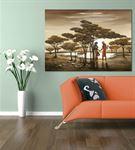 Bir Sonbahar Randevusu Kanvas Tablo 20x30 cm