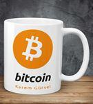 Bitcoin Kişiye Özel Kupa