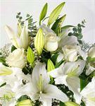 Cam Vazoda Kokulu Çiçekler