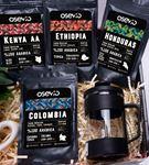 Dünya Kahve Lezzetleri Kutusu(Kahve Çiçeği Hediye)