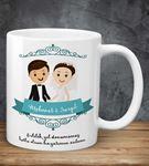 Evlilik Yıl Dönümü Kupa