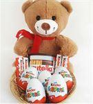 Kinder Sürpriz Çikolatalı Ayıcık Sepeti