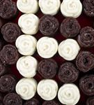 Kişiye Özel Aşkın Baş Harfi Çikolatalı Kek Buketi