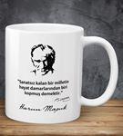 Kişiye Özel Atatürk Sözlü Kupa