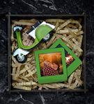 Kişiye Özel Fotoğraflı Vespa Hediye Seti Yeşil