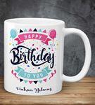 Kişiye Özel Happy Birthday Kupa