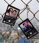 Kişiye Özel Spotify Tasarımlı Anahtarlık