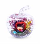 Mini Elma Cam İçinde Dev Aşk Teraryum