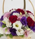 Sevgi Bahçesi Çiçek Sepeti Aranjmanı