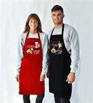 Çiftlere Özel Espirili 2li Mutfak Önlüğü