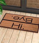 Esprili Merhaba-Güle Güle Kapı Önü ve Ev İçi Paspa
