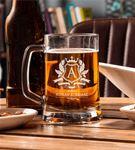 İsim Ve Harf İşlemeli Bira Bardağı