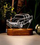 Nostaljik Araba Meraklılarına 3D Led Lamba