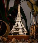 Paris Eyfel Kulesi 3 Boyutlu Led Lamba