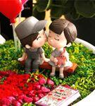 Sevgiliye Hediye Mutlu Çiftler , Kalpli Minyatür B