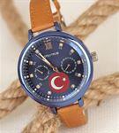 Türk Bayrak Tasarımlı Kadın Saat BS1803-KS