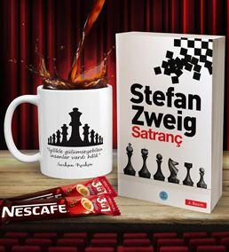 Kişiye Özel Satranç Stefan Zweig Hediye Seti