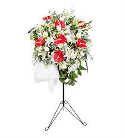 Açılış Tebrik Ferforje Çiçek Aranjmanı