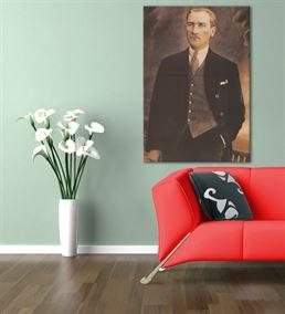 Atatürk Kanvas Tablo 20x30cm