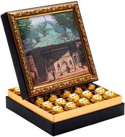 Çeşme Çerçeveli Çikolata Kutusu