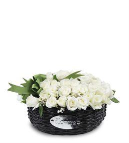 Çiçek Sepeti 41 Beyaz Güller