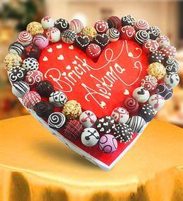 Çikolatalı Biricik Aşkıma Lezzet Topları