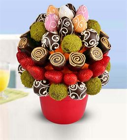 Çikolatalı Meyve Sepeti