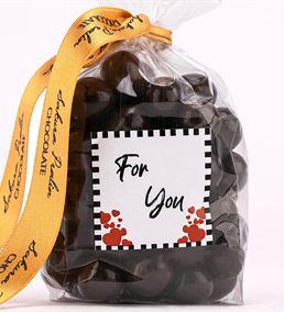 For You 150 Gr Bitter Çikolatalı Fındık Draje