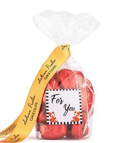 For You Serisi Kırmızı Kalp Çikolata