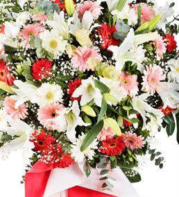 Görkemli Kutlama Ferforje Çiçek Aranjmanı