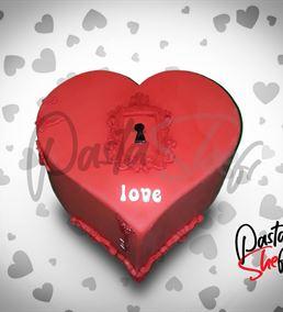 Sevgililer Günü Kalbimdesin Pastası