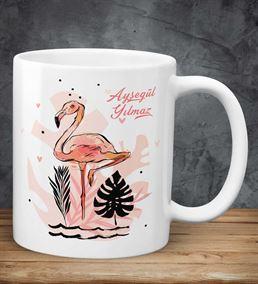 Kişiye Özel Flamingo Temalı Kupa