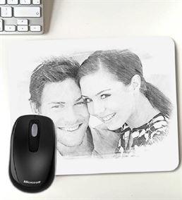 Kişiye Özel Fotoğraf Baskılı Mousepad