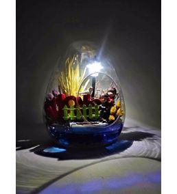 Küçük Yumurta Love Yazılı Işıklı Sevgili-Kym0005