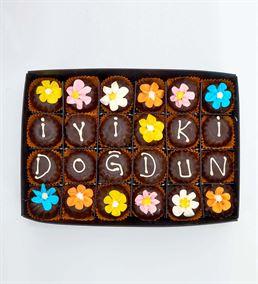 Lezzetli Doğum Günü Çikolata Kutusu
