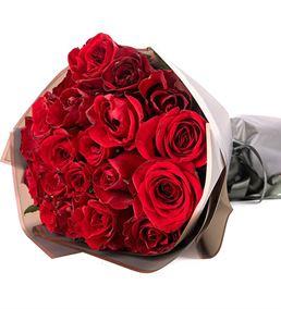 Love Serisi Premium Kırmızı Gül Buketi
