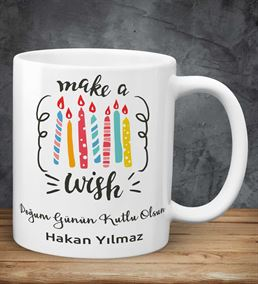 Make A Wish doğum Günü Kupası