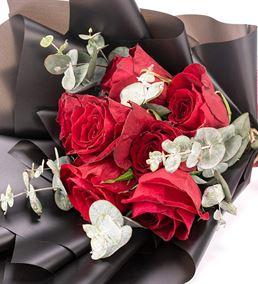 Premium Mini Kırmızı Gül Çiçek Buketi