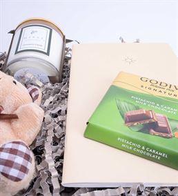 Mutlu Hisset Serisi Çikolata Kolonya Hediye Kutusu