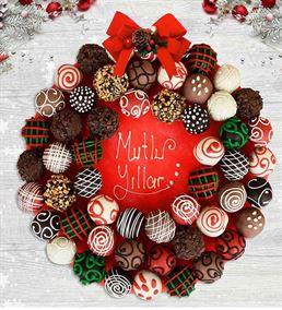 Mutlu Yıllar Hediyesi Çikolatalı Lezzet Topları