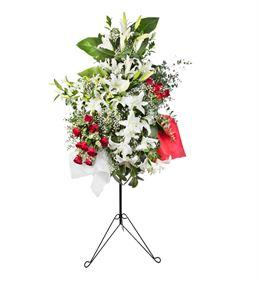 Mutluluklar Ferforje Çiçek Aranjmanı