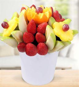 Neşeli Vitamin Deposu Meyve Sepeti Aranjmanı