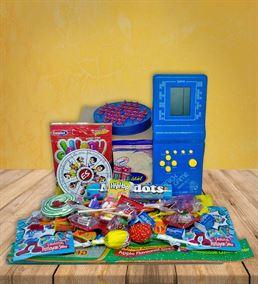 Nostalji Lezzet Dolu Tetris Kutusu