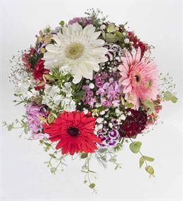 Renk Karnavalı Çiçek Aranjmanı
