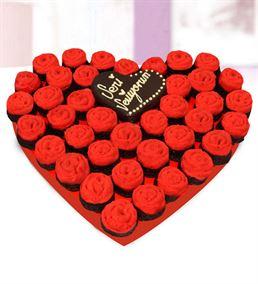 Seni Seviyorum Kek Buketi
