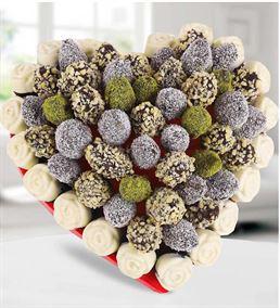 Seni Seviyorum Lezzetli Kek Meyve Buketi