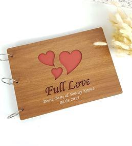 Sevgiliye Özel Kalpli Fotoğraf Albümü